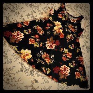 Adorable Harvest Flower Thanth Skater Dress